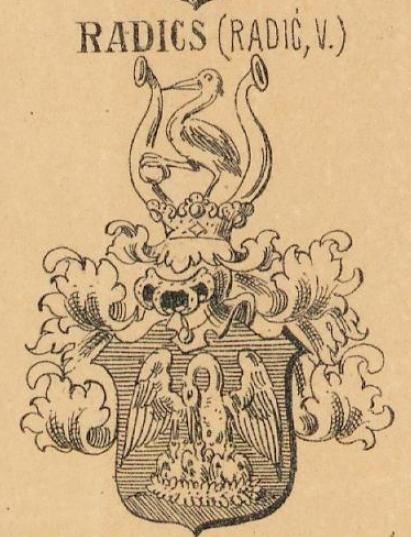 Radics Coat of Arms / Family Crest 0