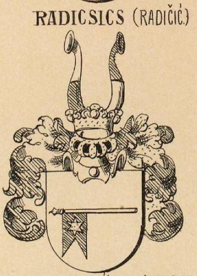 Radicsics Coat of Arms / Family Crest 0