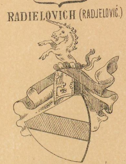 Radielovich Coat of Arms / Family Crest 0