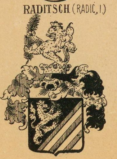 Raditsch Coat of Arms / Family Crest 0