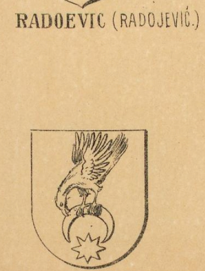 Radoevic Coat of Arms / Family Crest 0