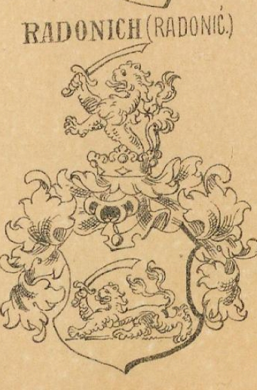 Radonich Coat of Arms / Family Crest 0