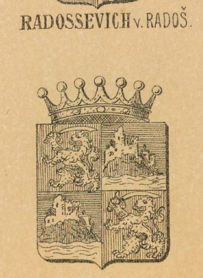 Radossevich Coat of Arms / Family Crest 0