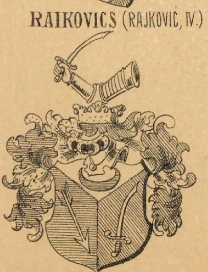 Raikovics Coat of Arms / Family Crest 0