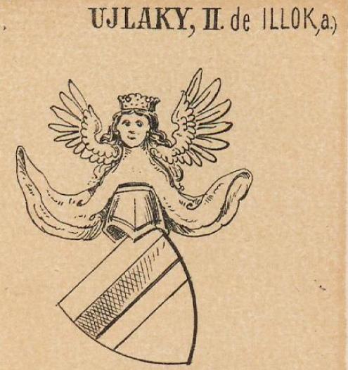 Ujlaky Coat of Arms / Family Crest 1
