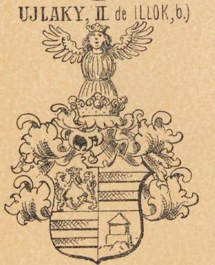 Ujlaky Coat of Arms / Family Crest 2