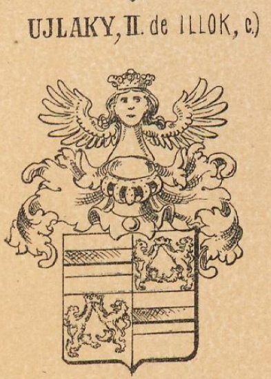 Ujlaky Coat of Arms / Family Crest 3