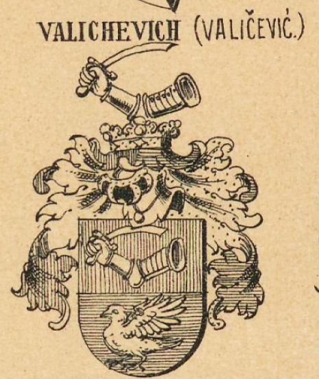 Valichevich Coat of Arms / Family Crest 0