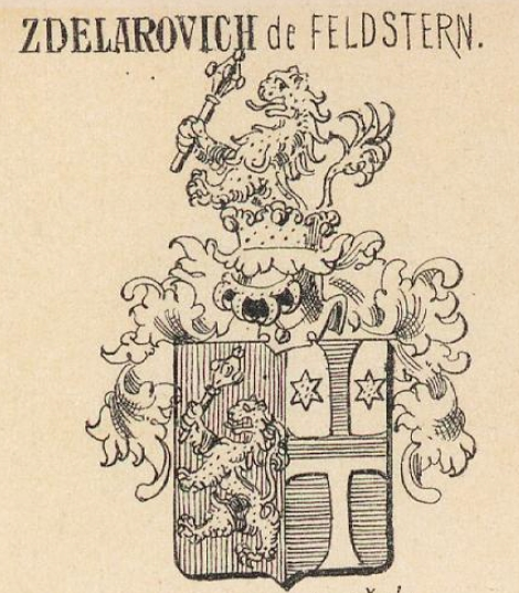 Zdelarovich Coat of Arms / Family Crest 0