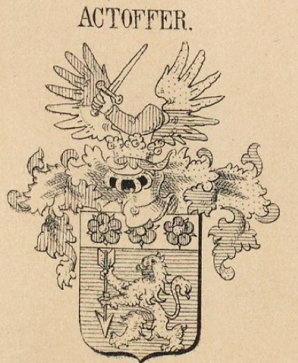 Actoffer Coat of Arms / Family Crest 0