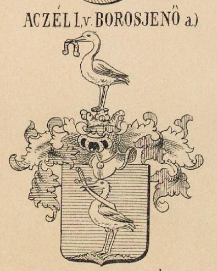 Aczel Coat of Arms / Family Crest 0