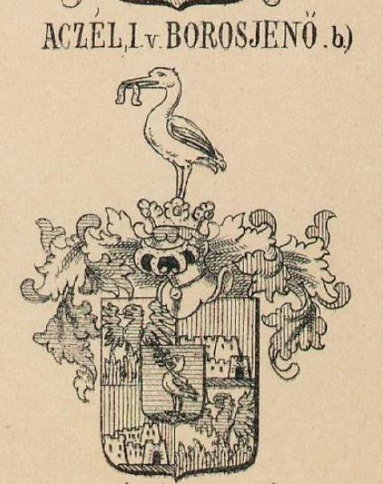 Aczel Coat of Arms / Family Crest 1