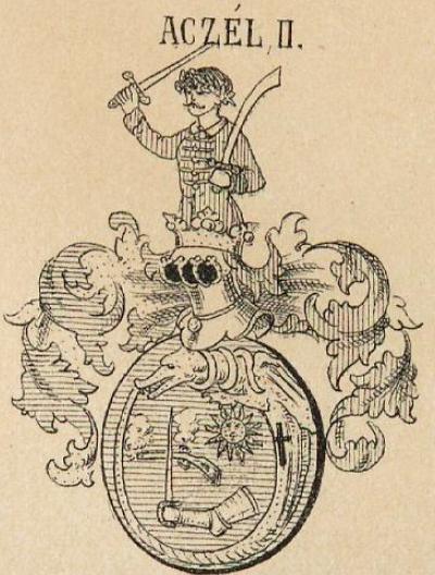 Aczel Coat of Arms / Family Crest 2