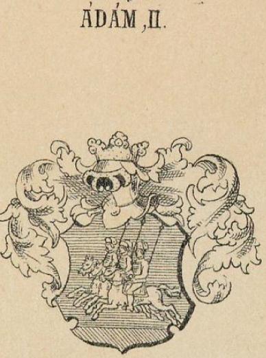 Adam Coat of Arms / Family Crest 1