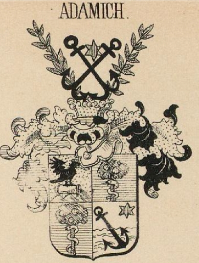 Adamich Coat of Arms / Family Crest 1