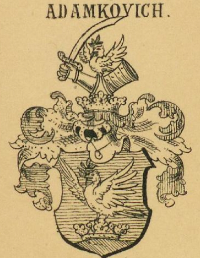 Adamkovich Coat of Arms / Family Crest 1