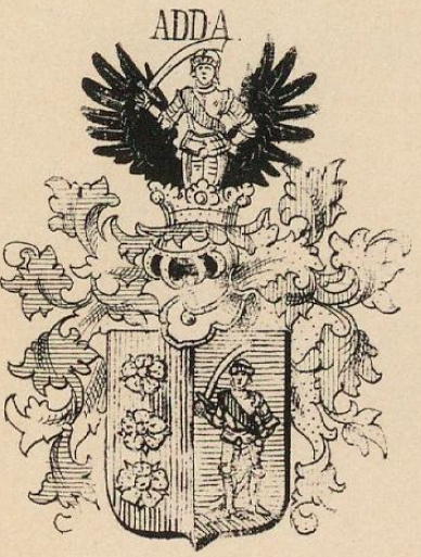 Adda Coat of Arms / Family Crest 2