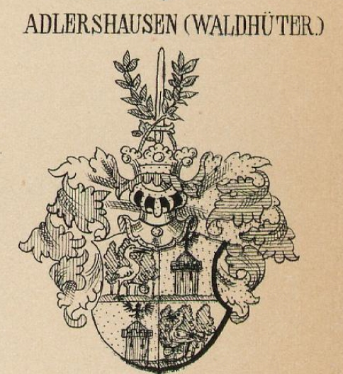 Adlershausen Coat of Arms / Family Crest 0