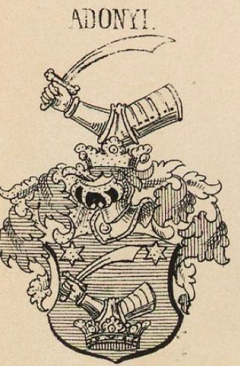 Adonyi Coat of Arms / Family Crest 0