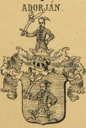 Adorjan Coat of Arms / Family Crest 1