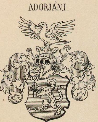 Adorjan Coat of Arms / Family Crest 2
