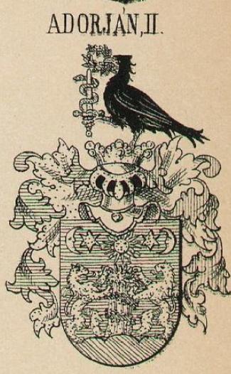 Adorjan Coat of Arms / Family Crest 3