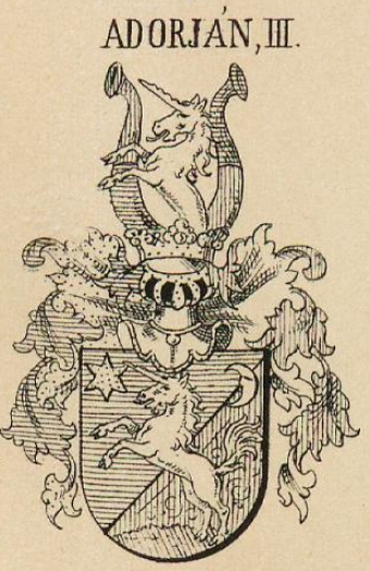 Adorjan Coat of Arms / Family Crest 4