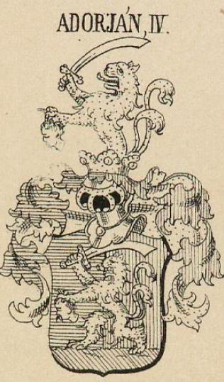 Adorjan Coat of Arms / Family Crest 5
