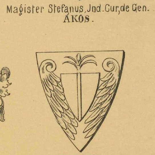 Akos Coat of Arms / Family Crest 2