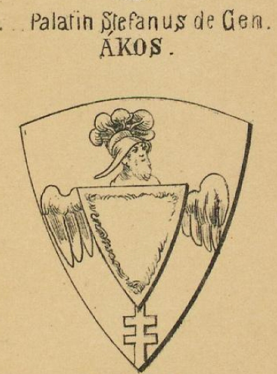 Akos Coat of Arms / Family Crest 3