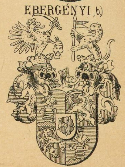 Ebergenyi Coat of Arms / Family Crest 1