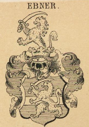 Ebner Coat of Arms / Family Crest 5