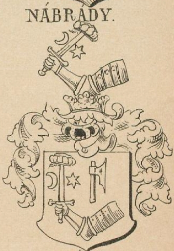 Nabrady Coat of Arms / Family Crest 2