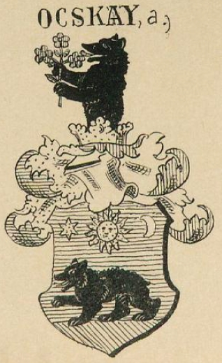 Ocskay Coat of Arms / Family Crest 0