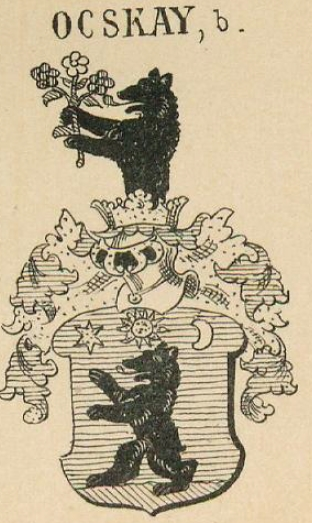 Ocskay Coat of Arms / Family Crest 1
