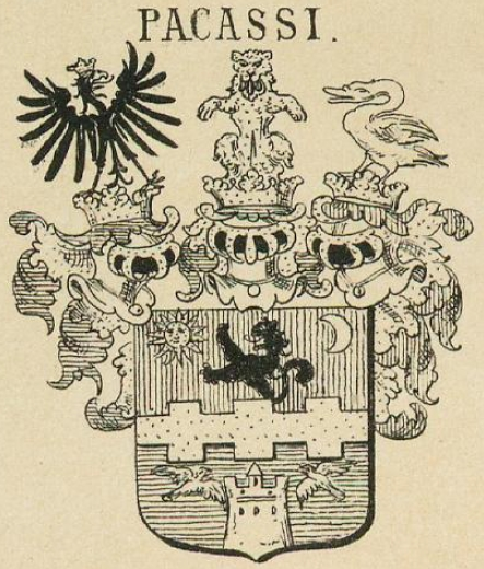 Pacassi Coat of Arms / Family Crest 1