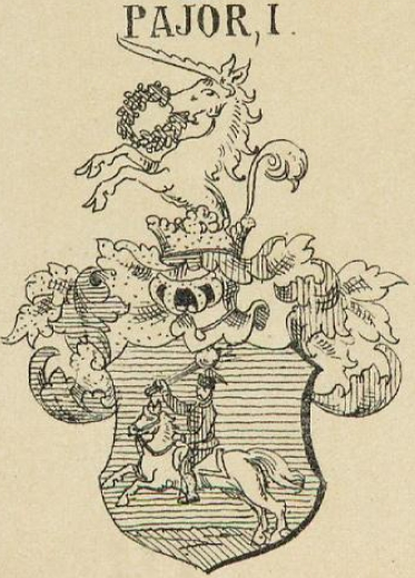 Pajor Coat of Arms / Family Crest 1