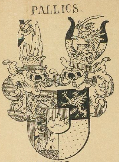 Pallics Coat of Arms / Family Crest 0