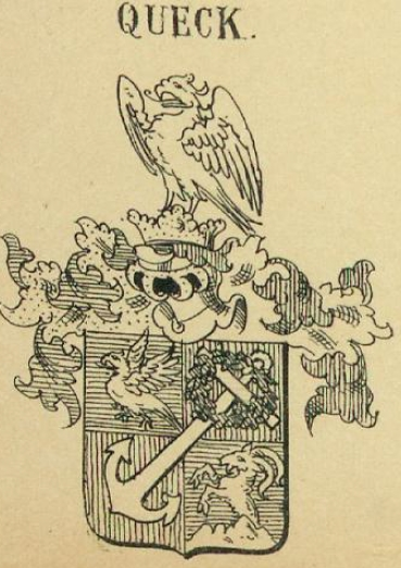 Queck Coat of Arms / Family Crest 0