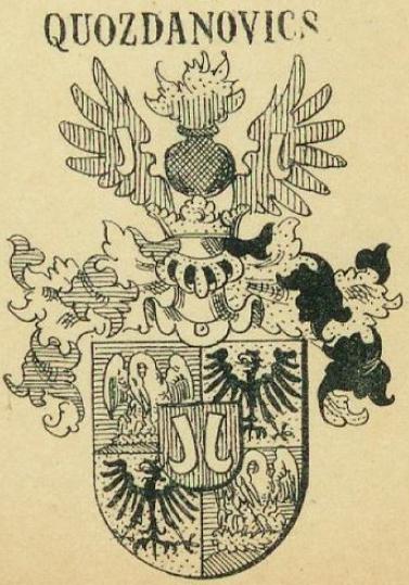 Quozdanovics Coat of Arms / Family Crest 0