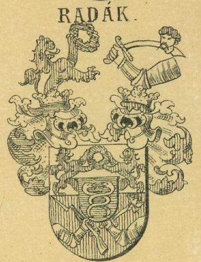 Radak Coat of Arms / Family Crest 0