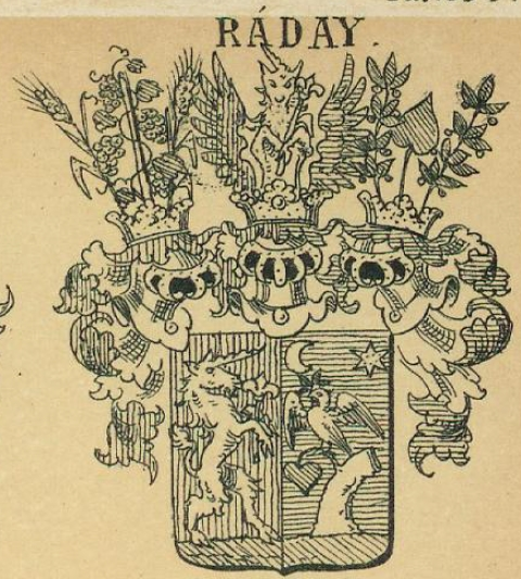 Raday Coat of Arms / Family Crest 0