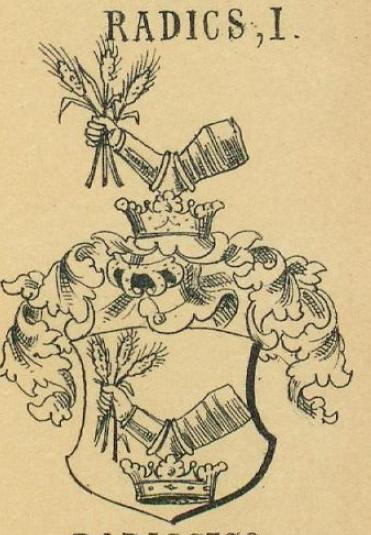 Radics Coat of Arms / Family Crest 1
