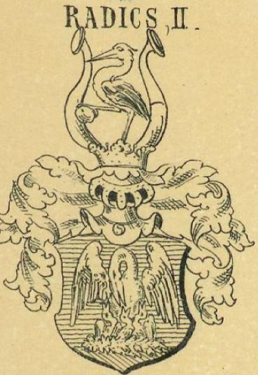 Radics Coat of Arms / Family Crest 2
