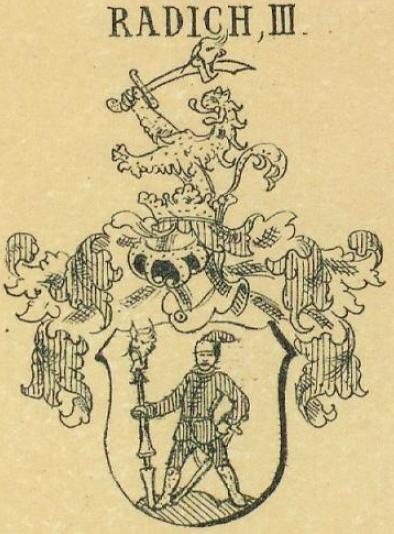 Radics Coat of Arms / Family Crest 3