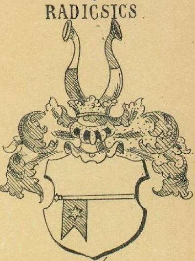Radicsics Coat of Arms / Family Crest 1