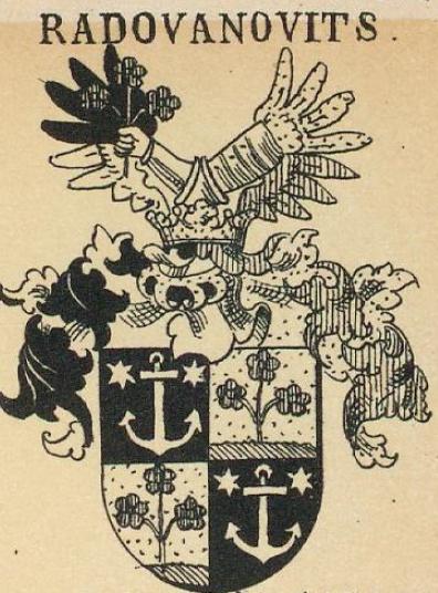 Radovanovits Coat of Arms / Family Crest 0
