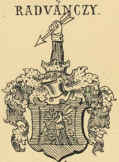 Radvanszky Coat of Arms / Family Crest 0