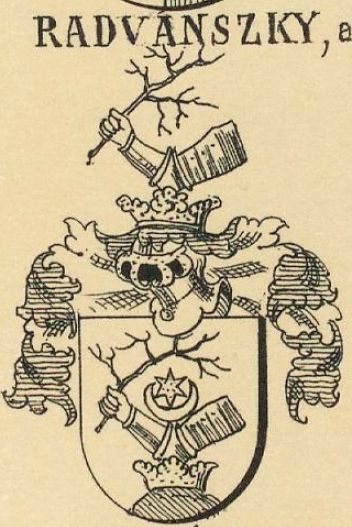 Radvanszky Coat of Arms / Family Crest 1