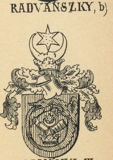 Radvanszky Coat of Arms / Family Crest 2